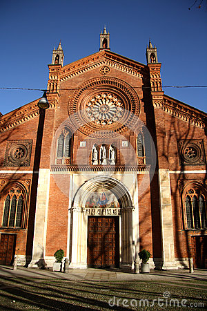 San Marco church in Milan, Italy