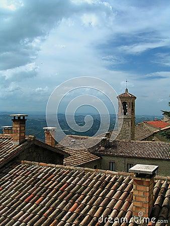 San Marino - roofs