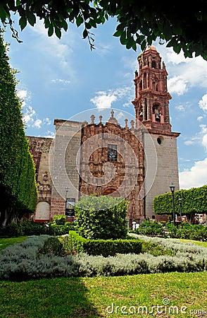 San Miguel Allende Cathedral Facade