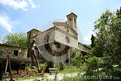 San Miniato church in Sicelle (Tuscany, Italy)