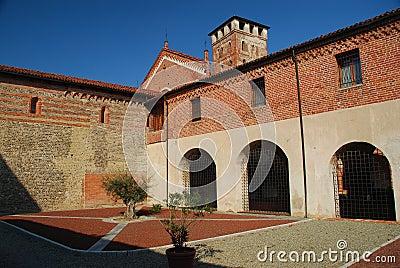San Nazzaro abbey, Novara, Italy