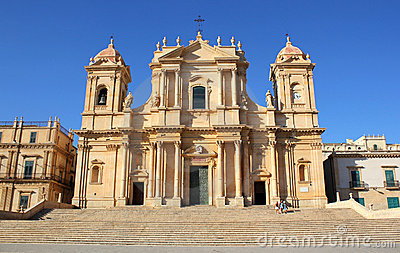 San Nicolo Cathedral in Noto