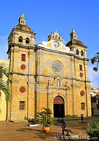 Free San Pedro Claver Church, Cartagena, Colombia Royalty Free Stock Photo - 21220265