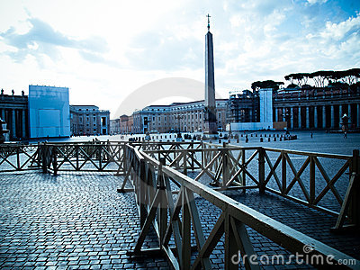 San Pietro Square in Vaticano