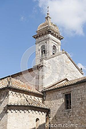 San Quirico d Orcia (Tuscany), church