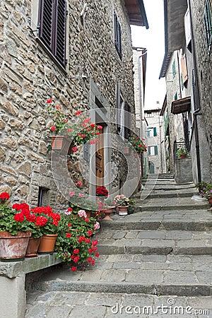 Free San Quirico (Svizzera Pesciatina, Tuscany) Stock Image - 21091871