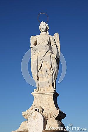 San Rafael Archangel statue