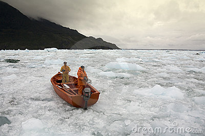 San Rafael Glacial Lagoon - Patagonia - Chile Editorial Image