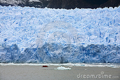 San Rafael Glacier in Patagonia - Chile