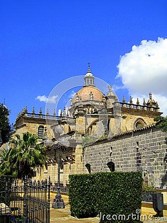 San Salvador Cathedral Jerez de la Frontera Spain