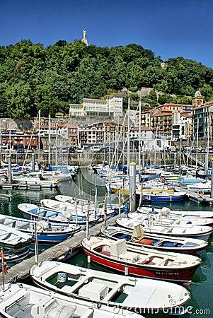 San Sebastian (Donostia) harbour