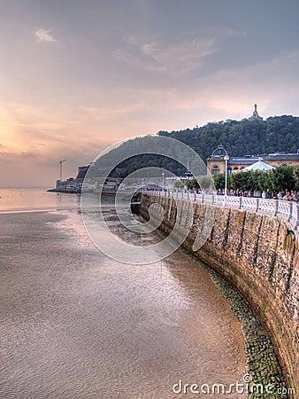 San Sebastian cityscape