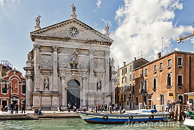 San Stae Church in Venice Editorial Photography