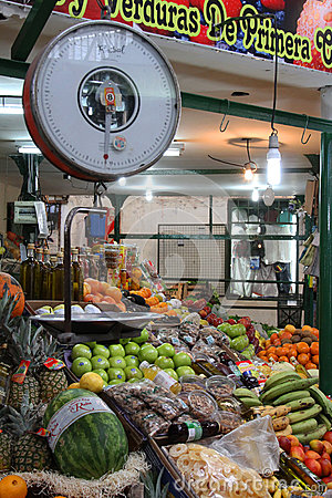 San Telmo Covered Market Editorial Photo