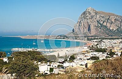 San Vito Lo Capo town in Sicily