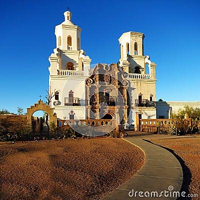 Free San Xavier Mission Christian Church Royalty Free Stock Photos - 51374248