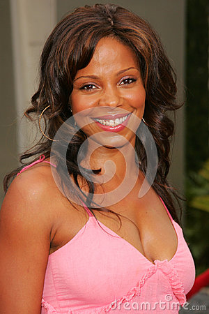 Sanaa Lathan Editorial Stock Photo