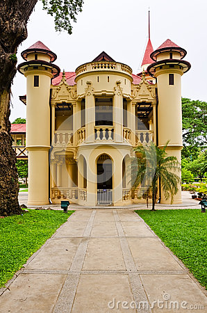 Sanam Chan Palace Stock Image - Image: 25660831