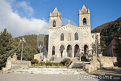 The Sanctuary of Gibilmanna. Sicily