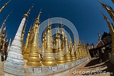Sanctuary  Inn Taing near Inle lake in Myanmar 1.