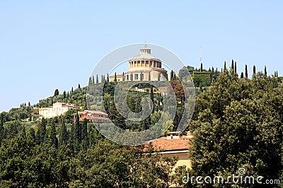 Sanctuary of Madonna of Lourdes in Italian Verona