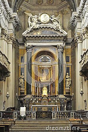 Sanctuary of Santa Maria della Vita in Bologna Italy