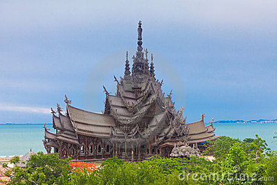 Sanctuary of Truth. Pattaya, Thailand