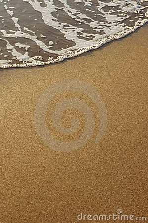Free Sand And Sea Foam Royalty Free Stock Photos - 1582848