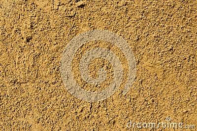 Sand background close up
