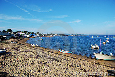 Sand Beach and Boats