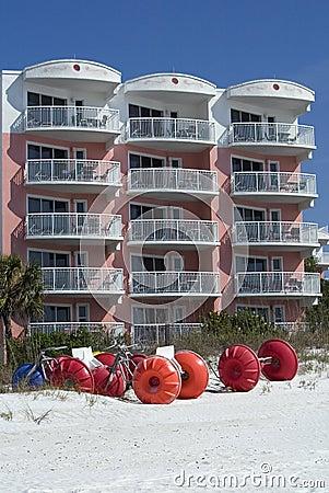 Sand bikes and condo