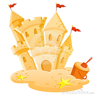 Free Sand Castle Royalty Free Stock Photos - 24406508