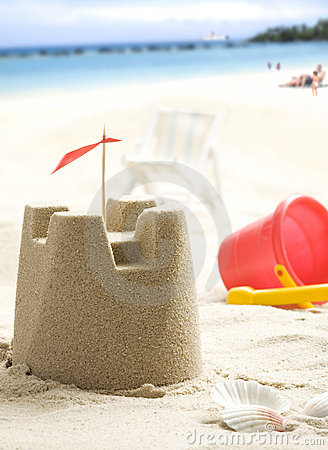 Free Sand Castle Stock Photo - 9878530