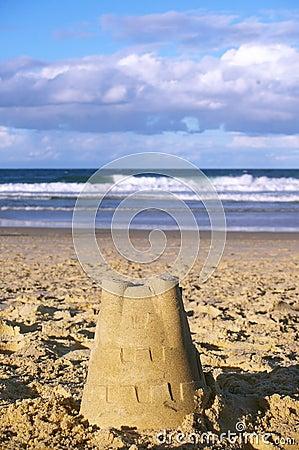 Sand castle australia