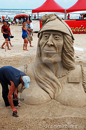 Free Sand Castle Day On South Padre Island IV Royalty Free Stock Photo - 6806665