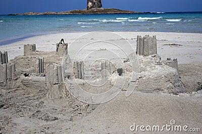 Sand castle - Real castle