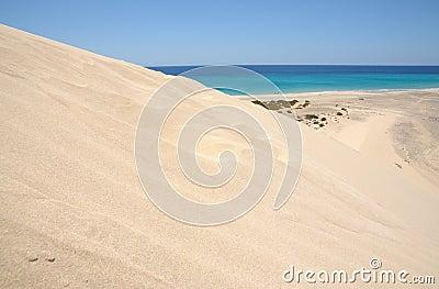 Sand Dune on Fuerteventura, Spain