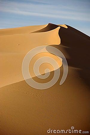 Sand dune, Libya