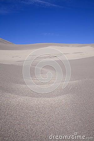 Sand dune path
