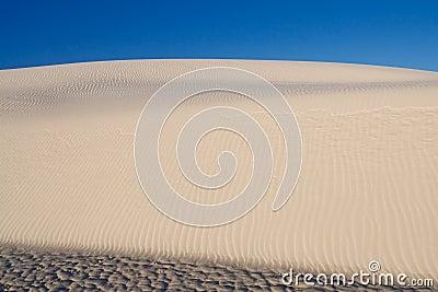 Sand Dune at White Sands National Monument, USA