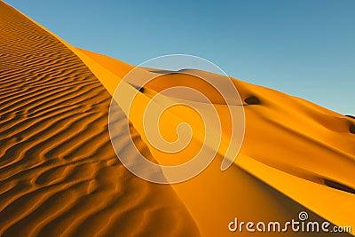 Sand Dunes - Awbari Sand Sea - Sahara
