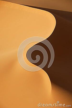 Free Sand Dunes In Sahara Desert, Libya Stock Photography - 87152982