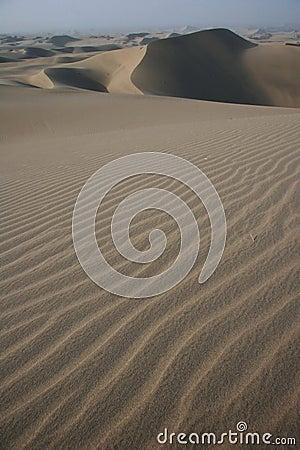 Free Sand Dunes Near Ica Stock Photography - 5232582