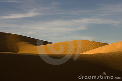 Sand dunes in the Pinacate desert