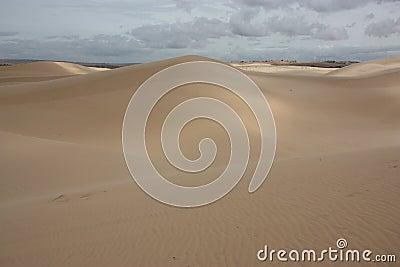 Sand Dunes in Vietnam