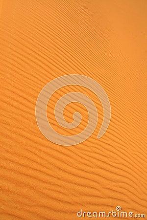 Sand dunes wavy texture