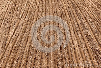Sand Earth Track Grooves Royalty Free Stock Photos - Image: 27888138