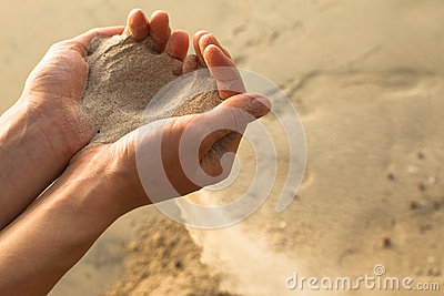 Sand and fingers