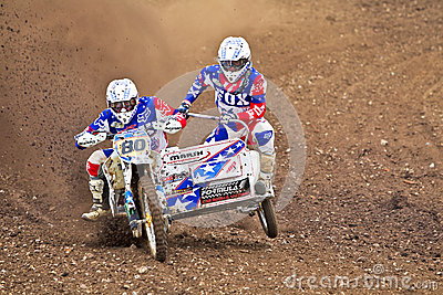 Sand & Gravel race Editorial Stock Image