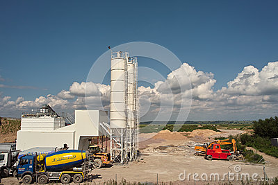 Sand industrial Editorial Photography